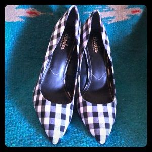 Charles by Charles David gingham pumps